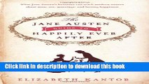[PDF] The Jane Austen Guide to Happily Ever After Full Textbook