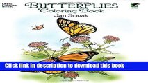 Ebook Dover Publications-Butterflies Coloring Book (Dover Nature Coloring Book) Full Online