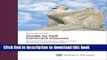 PDF  Guide to FAR Contract Clauses: Detailed Compliance Information for Government Contracts