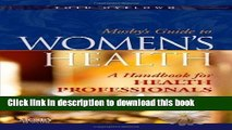 Ebook Mosby s Guide to Women s Health: A Handbook for Health Professionals Full Online