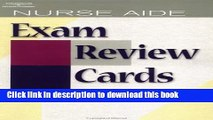 Ebook Nurse Aide Exam Review Cards CD Package (Test Preparation) Free Online