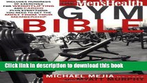 Ebook The Men s Health Gym Bible Free Download