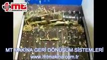 TS-SERİSİ TEK ŞAFTLI PARÇALAMA MAKİNASI / MT MAKİNA GERİ DÖNÜŞÜM SİSTEMLERİ