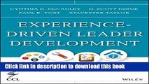 Books Experience-Driven Leader Development: Models, Tools, Best Practices, and Advice for