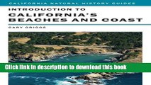 Ebook Introduction to California s Beaches and Coast (California Natural History Guides) Full Online