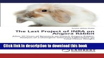 Books The Last Project of INRA on Angora Rabbit: After 30 Years of Research on French Angora
