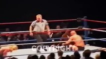 WWE HHH - Old Video Shows Referee   WWE Wrestler Triple H Brutally Attack A Fan Who Sneaks Up On Stop