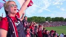 USA: les footballeuses réclament une hausse de rémunération