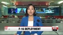 U.S. deploys 12 F-16 jets to S. Korea amid N. Korea tensions