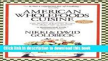 Ebook American Wholefoods Cuisine Free Online