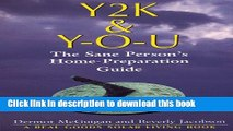 Ebook Y2K and Y-O-U: The Sane Person s Home-Preparation Guide Free Online