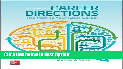 Books Career Directions: New Paths to Your Ideal Career Free Online