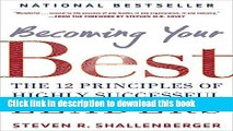 Books Becoming Your Best: The 12 Principles of Highly Successful Leaders Full Download
