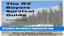 Ebook Rv Buyers Survival Guide Free Download