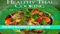 Ebook Healthy Thai Cooking Free Online