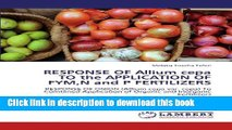 Ebook RESPONSE OF Allium cepa TO the APPLICATION OF FYM,N and P FERTILIZERS: RESPONSE OF ONION