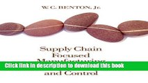 Books Supply Chain Focused Manufacturing Planning and Control Full Online