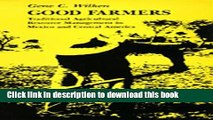 Books Good Farmers: Traditional Agricultural Resource Management in Mexico and Central America