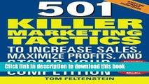 Download  501 Killer Marketing Tactics to Increase Sales, Maximize Profits, and Stomp Your