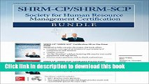 Ebook SHRM-CP/SHRM-SCP Certification Bundle (All-In-One) Full Online