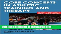 Ebook Core Concepts in Athletic Training and Therapy With Web Resource (Athletic Training