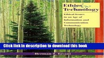 Ebook Ethics and Technology: Ethical Issues in an Age of Information and Communication Technology