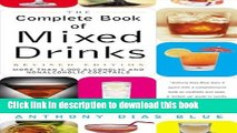 Ebook The Complete Book of Mixed Drinks: Over 1,000 Alcoholic and Non-Alcoholic Cocktails