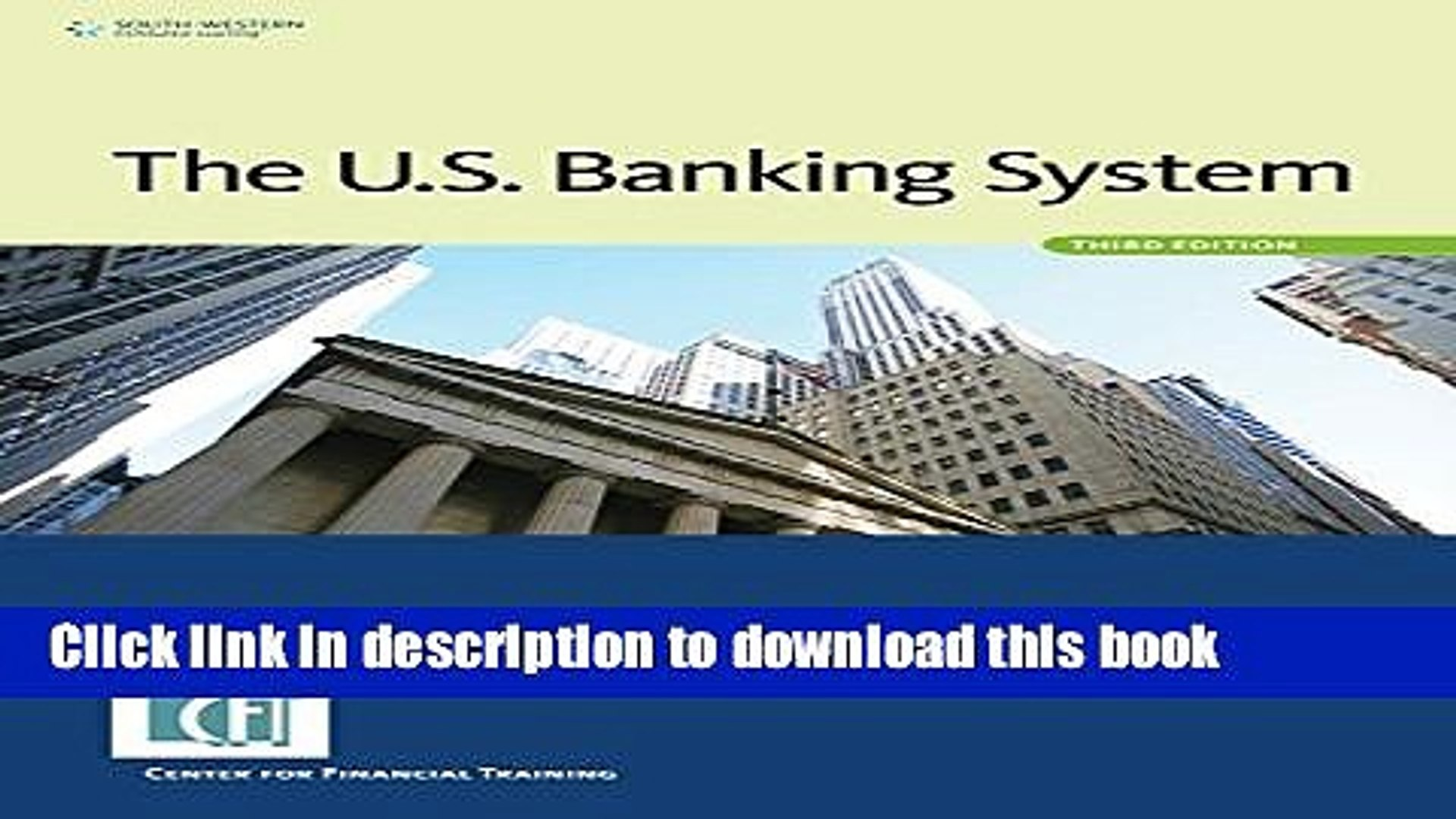 PDF  The U.S. Banking System  Online