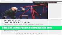 PDF  Brecht in Practice: Theatre, Theory and Performance (Methuen Drama Engage)  Online KOMP B
