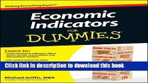 Ebook Economic Indicators For Dummies Full Online