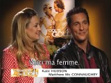 L'amour de l'or: interview de Kate Hudson et Matthew McConaughey
