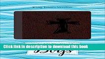 Book KJV Study Bible for Girls Grape/Surf Blue Floral Design