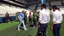 OM : Margarita Louis-Dreyfus arrive au Vélodrome