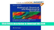 Read Biological, Chemical, and Radiological Terrorism: Emergency Preparedness and Response for the