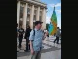 manif de solidarité de Tamazgha a paris