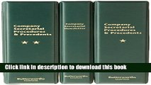 Ebook Butterworths Company Secretarial Procedures and Precedents: Pay-In-Advance Subscription Full