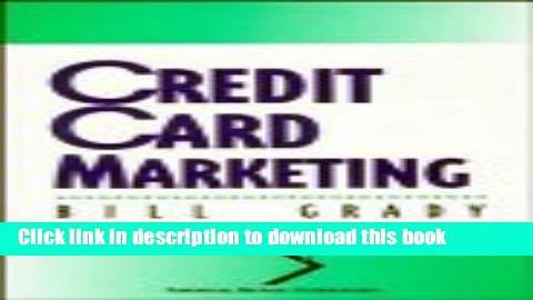 [Read PDF] Credit Card Marketing (National Retail Federation) Ebook Free