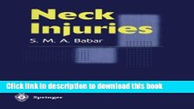 Books Neck Injuries Free Online