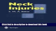 PDF  Neck Injuries  Free Books