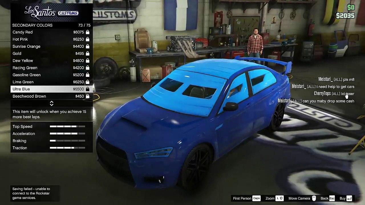 New Car Karin Kuruma Armored $525,000 in Gta Online - Grand Theft Auto V
