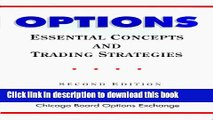 [Read PDF] Options: Essential Concepts and Trading Strategies Download Online