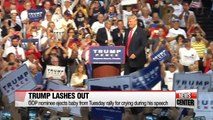 Support for Donald Trump flounders after controversial remarks