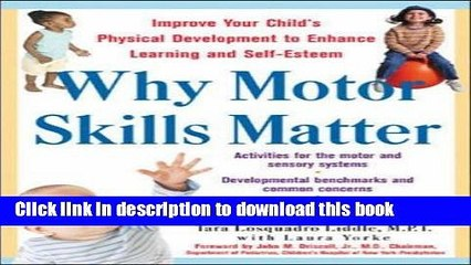 Books Why Motor Skills Matter Free Online