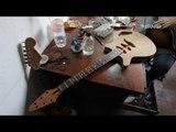 Com venda de madeira de lei proibida, Luthier desmonta móveis antigos para fabricar instrumentos
