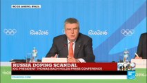 Russia doping scandal: IOC president Thomas Bach holds press conference - Rio 2016