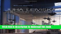 [Read PDF] Juha Leiviska and the Continuity of Finnish Modern Architecture (Architectural