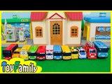 꼬마버스 타요 장난감 친구들 소개하기. The Little Bus Tayo toys 타요 주유소 로보카폴리 세차장 실바니안 장난감