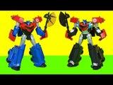 Transformers Robots in Disguise Warrior Class Optimus Prime & Bumblebee car toys 트랜스포머 옵트머스프라임 범블비 장