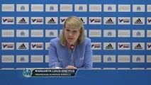 """OM - Margarita Louis-Dreyfus : """"Une nouvelle confiance avec les supporters"""""""