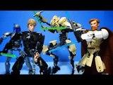 레고 스타워즈 그리비스 오비완캐노비  루크스카이워커 장고펫 간략 소개 Lego Star Wars Battle Figures Preview (No Stopmotion)